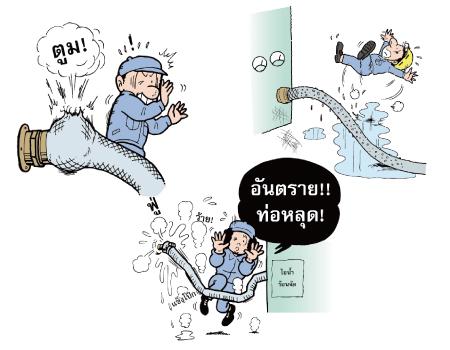 ช่วยรับรองความปลอดภัยในการทำงานด้วยท่ออ่อนและข้อต่อ